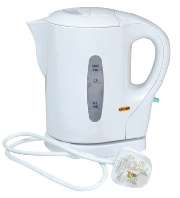 Leisurewize Camping Caravan 1 Litre low wattage 900W Kettle